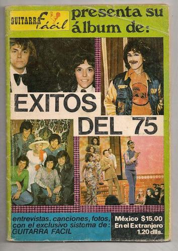 revista cancionero guitarra fácil exitos de 1975