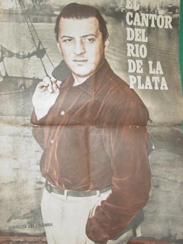 revista cantando extra tango muerte de julio sosa con poster