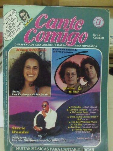 revista - cante comigo- stevie wonder/ maria bethania cifra