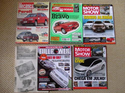 revista car and driver + brindes