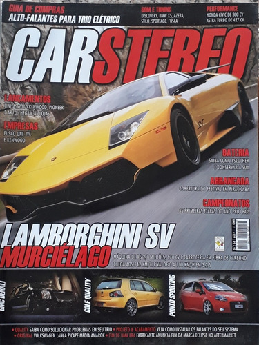 revista car stereo - ano 11 - número 127