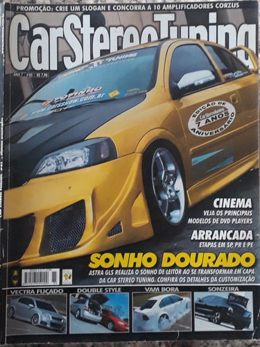 revista car stereo tuning - número 85 - ano 7