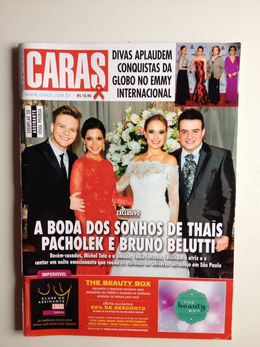 c6ef6c124 Revista Caras 1100 Thais Pacholek Paulo Betti Luíza Possi - R$ 27,90 ...