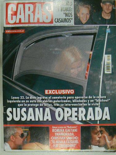revista caras 2010 susana lopilato buble xuxa
