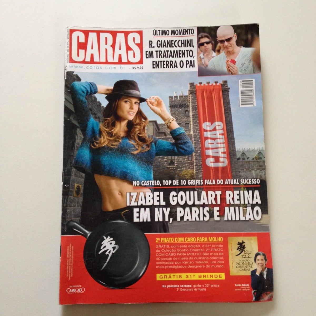 99f209a4819 Revista Caras 937 Izabel Goulart Reynaldo Gianecchini - R  23