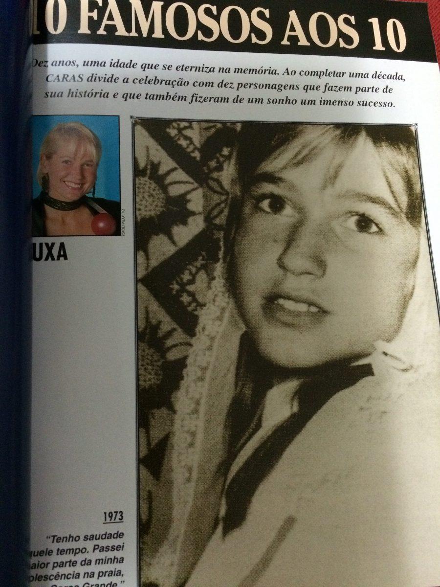 Revista Caras Especial 10 Anos Gisele B Xuxa Angelica