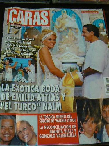 revista caras n 1457 año 2009 boda attias naim playa brasil