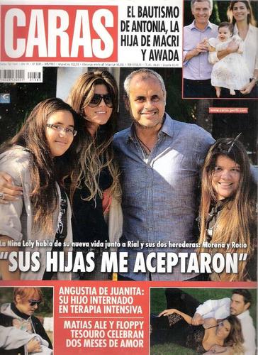 revista caras nº 1583 rial macri lali esposito miley cyrus.