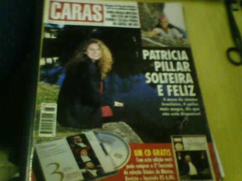 revista caras nº95 set95 patrícia pillar