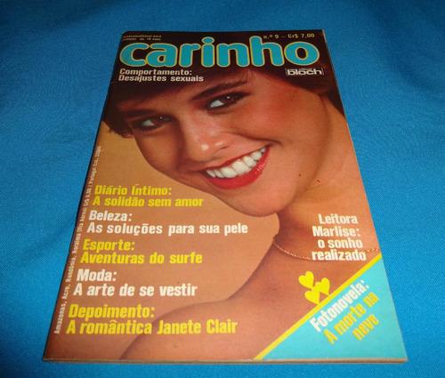 revista carinho nº 9 junho 1977 - novelista janete clair