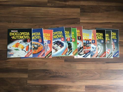 revista carro nova enciclopédia do automóvel
