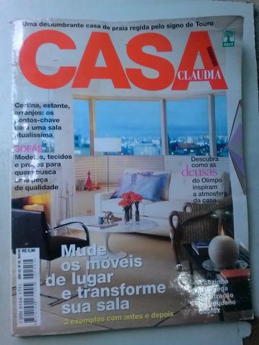 revista - casa cláudia - 5/23 - mude os móveis de lugar