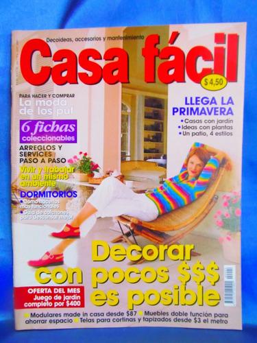 revista casa facil decoracion año 1 - 2000 -  nro 4