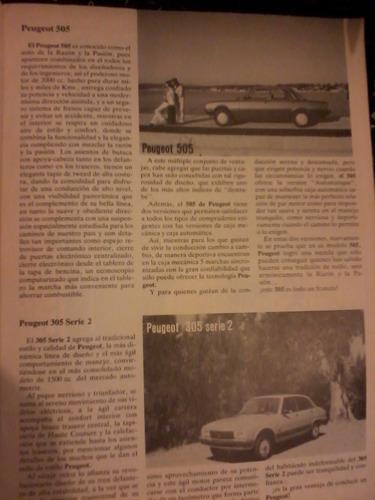 revista catalogo anual 1984 autos del mundo en español