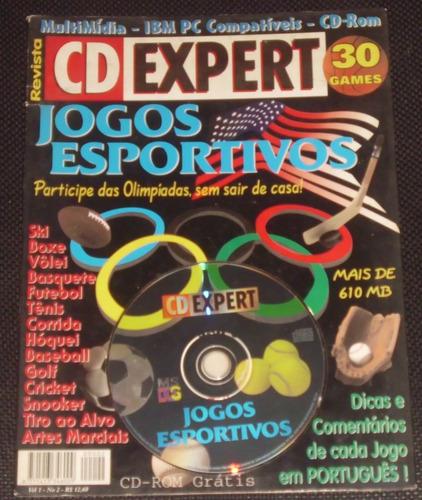 revista cd expert - 30 games esportivos