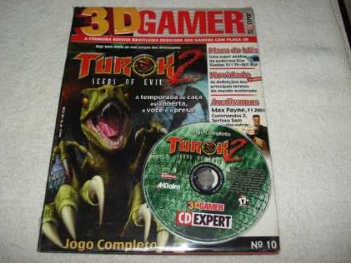 revista cd expert game turok 2 seeds of evil completo