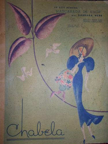 revista chabela nº 23 octubre 1937