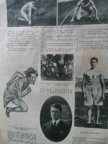 revista chilena deportiva, año 1925 los sports nº 115