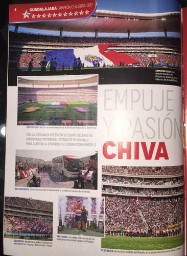 revista chivas record campeon 2017 nike puma 110 adidas
