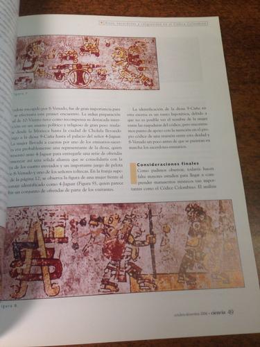 revista ciencia de la academia mexicana : códices