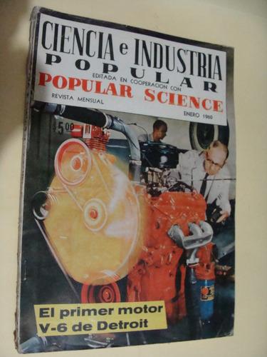 revista ciencia e industria popular  , año 1960 , 158 pagina