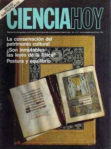 revista ciencia hoy 16 - nov dic1991