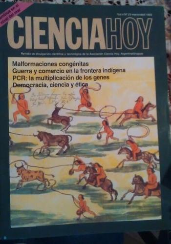 revista ciencia hoy 23 - mar abr 1993