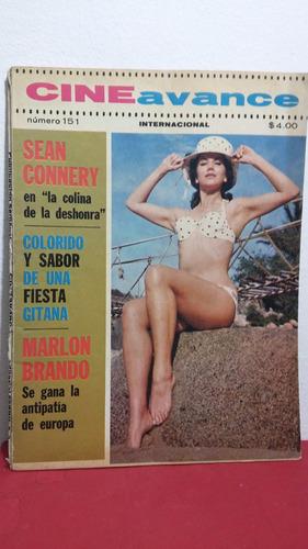 revista cine avance mayo 1963