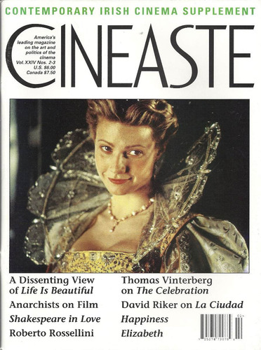 revista cineaste: gwyneth paltrow / greta garbo / bergman