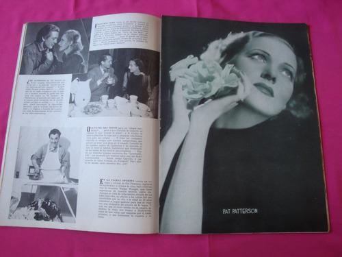 revista cinelandia año abril 1937 virginia bruce