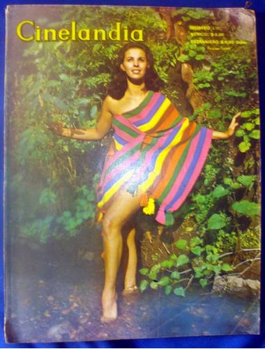 revista cinelandia, cine, farandula, años 60s.