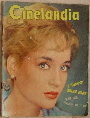 revista cinelândia  nº 231 - junho 1962 - sylvia simms.