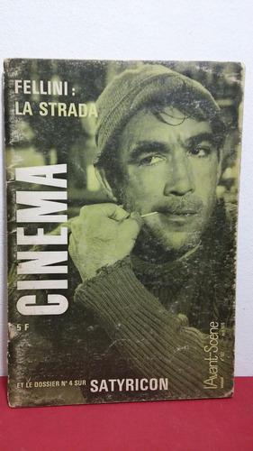 revista cinema fellini la strada (frances) abr 1970