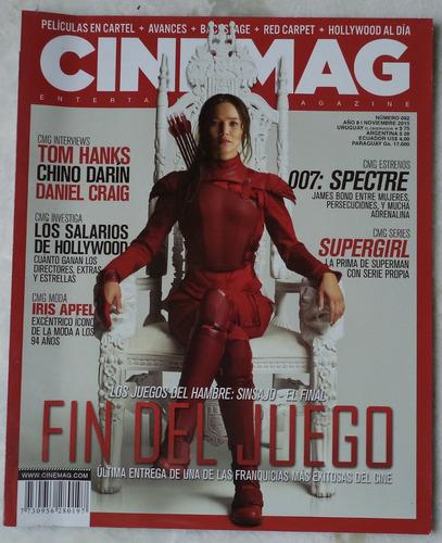 revista cinemag em espanhol capa jogos vorazes