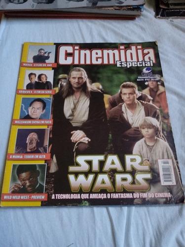 revista cinemidia especial star wars. ed canaã.
