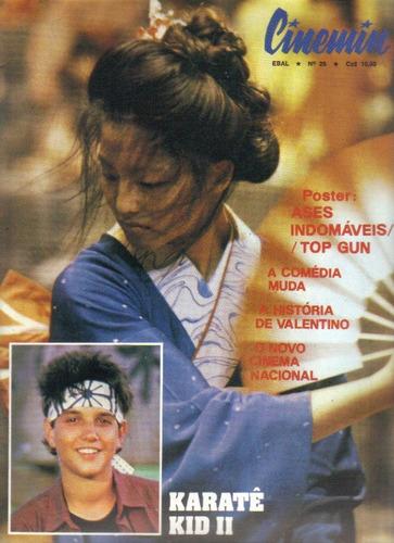 revista cinemin nº 26 - 5ª série - agosto / 1986 - ebal