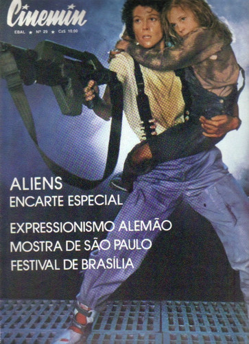 revista cinemin nº 29 - 5ª série - novembro/1986 - ebal