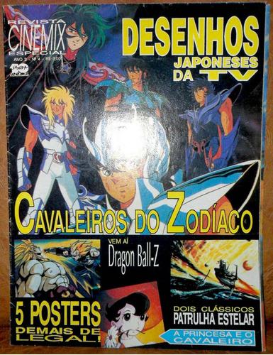 revista cinemix especial cavaleiros do zodíaco