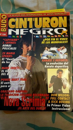 revista cinturón negro colección artes marciales