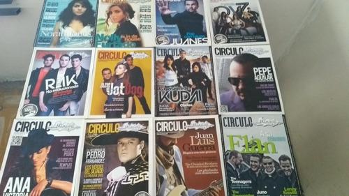 revista circulo mixup - ov7 - juanes - 49 c/u + 50 envio dhl
