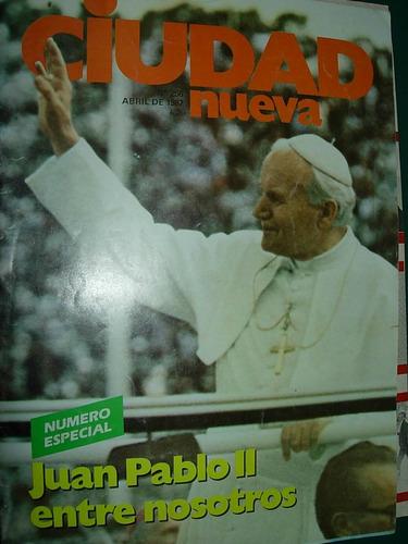 revista ciudad nueva religion 256 papa juan pablo argentina