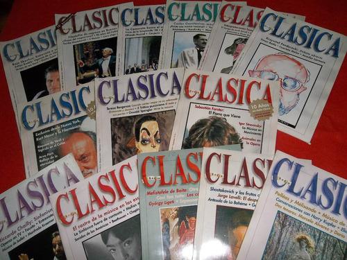 revista clásica año 2001 completo arte y cultura excelente