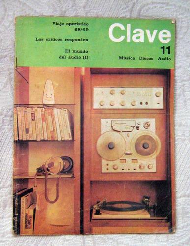 revista clave - epstein - musica audio