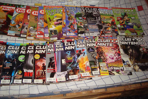 revista club nintendo años 1993 a 2011 coleccion
