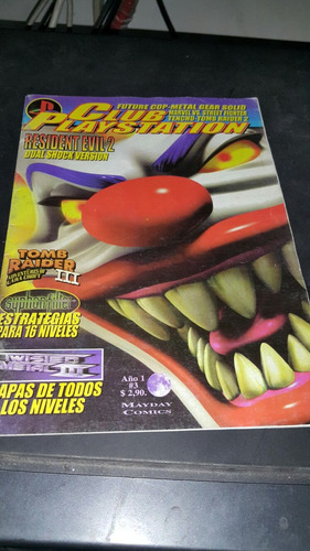 revista club playstation n 3 resident evil 2 tomb en la plat