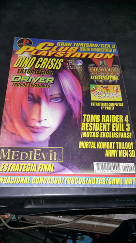 revista club playstation n 9 tomb raider 4 resident evil 3