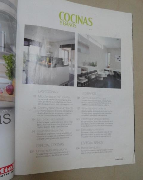 Revista Cocinas Y Baños. El Mueble Nro. 97 Lleva 2 Distintas - Bs. 20.000,00
