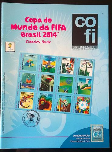 revista cofi nº 232 ano 2014 copa do mundo futebol fifa