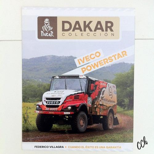 revista colección dakar iveco powerstar villagra 1/43 cch