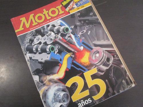 revista coleccion motor 25 años 2006  m3
